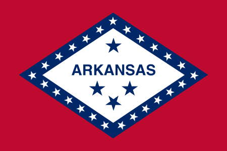 Arkansas AR State Flag