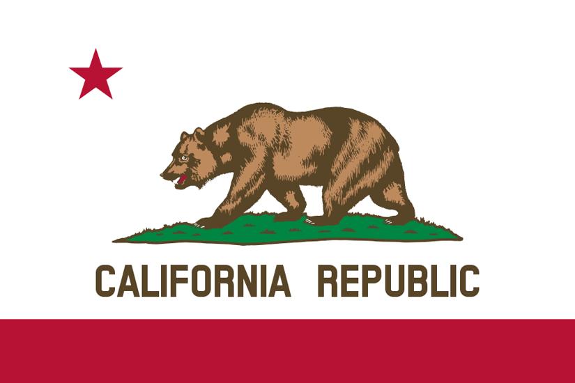 California CA state flag