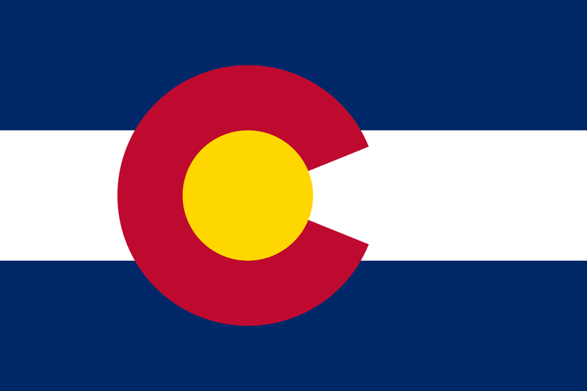 Colorado CO State Flag