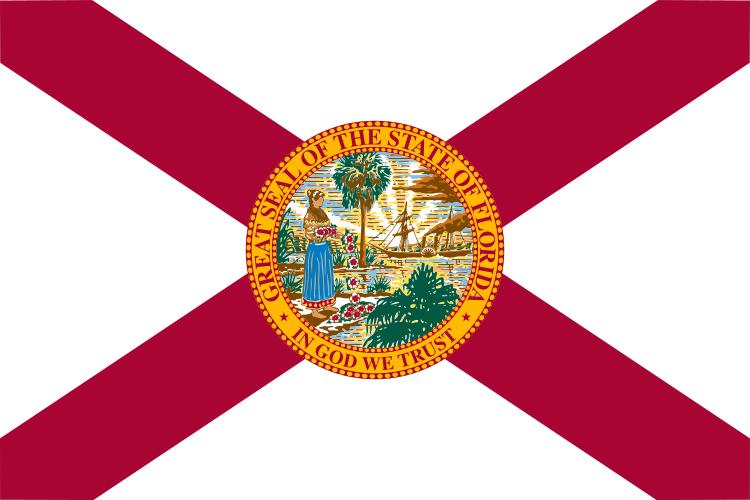 Florida FL State Flag