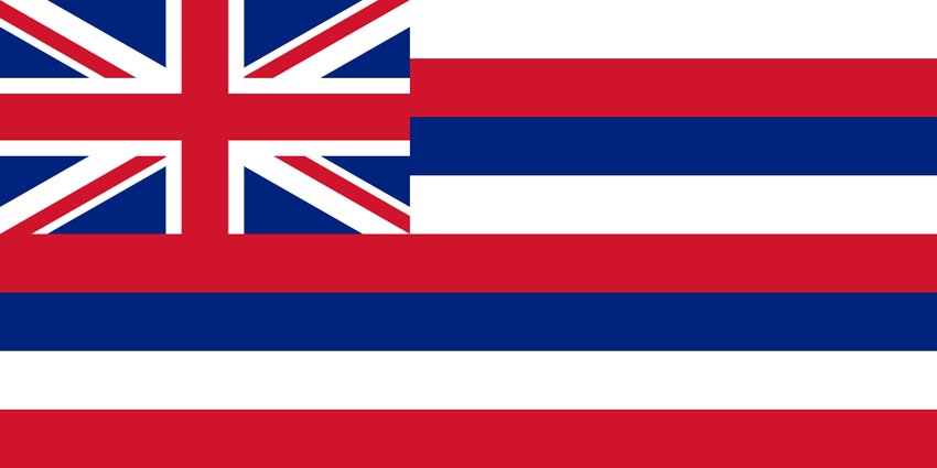 Hawaii HI State Flag