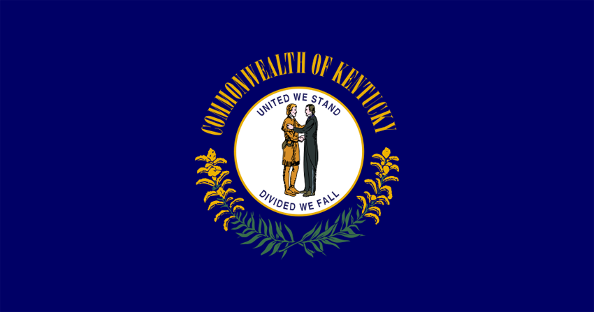 Kentucky KY State Flag