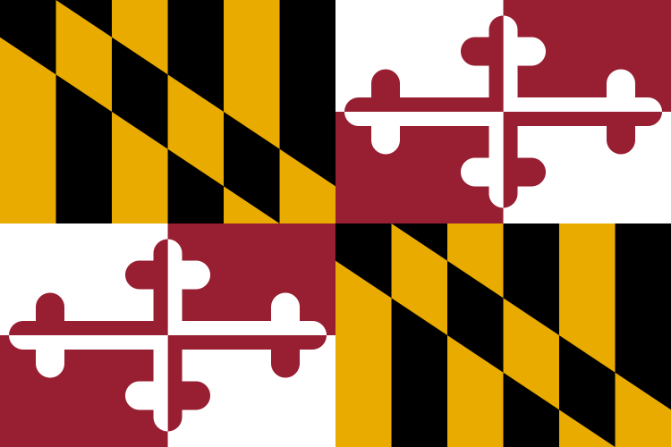 Maryland MD State Flag