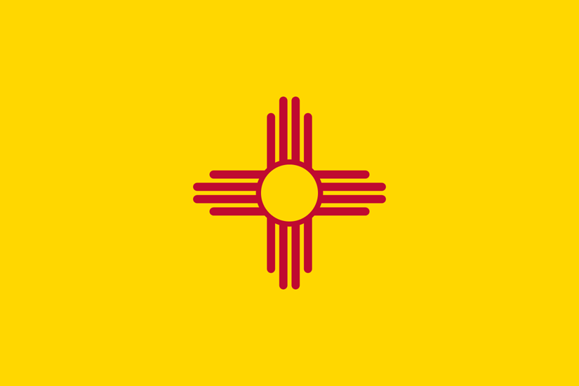 New Mexico NM State Flag