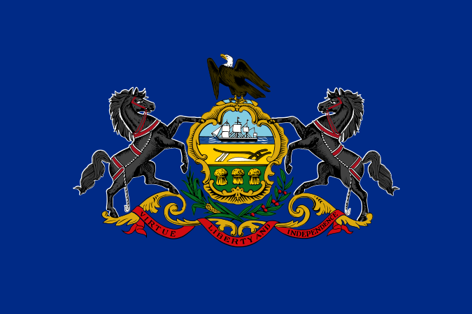 Pennsylvania PA State Flag