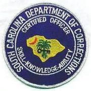 South Carolina department of corrections