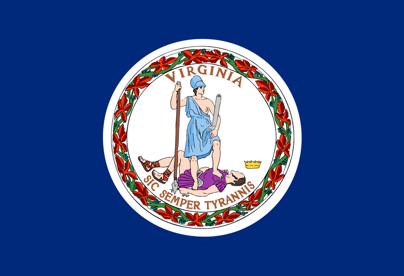 Virginia VA Flag