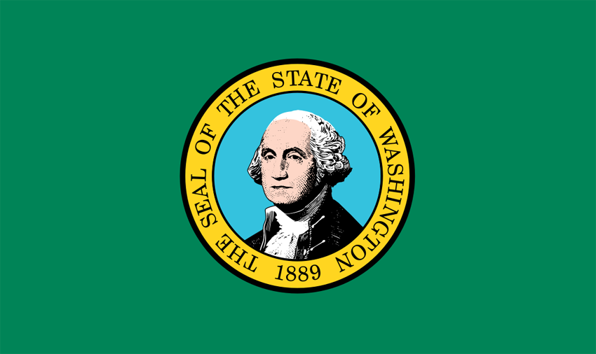 Washington WA Flag