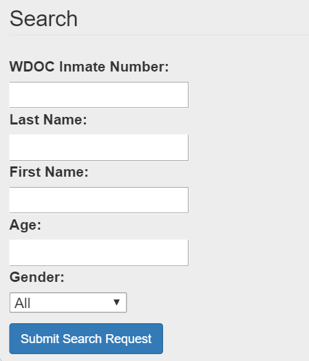 Wyoming inmate search
