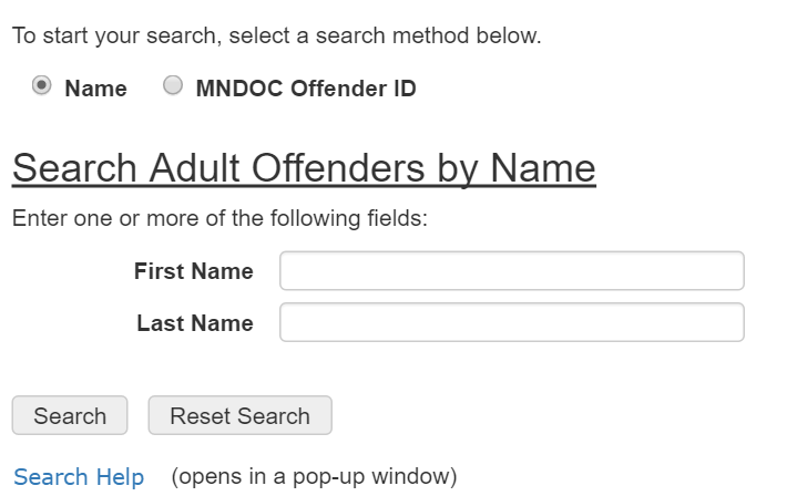 minnesota inmate search