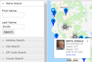 california sex offender inmate search in Eugene