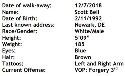 Delaware Convict Details