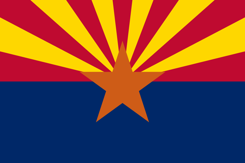 Arizona AZ state flag