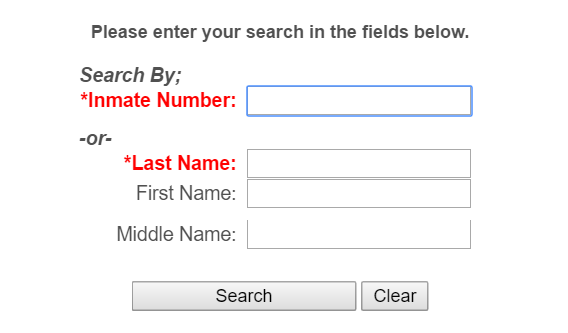 California inmate search