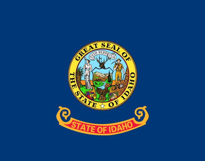 Idaho ID State Flag
