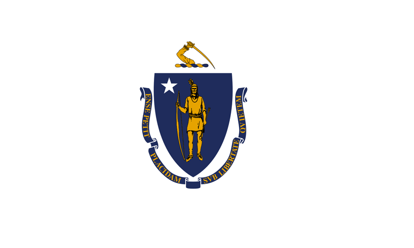 Massachusetts MA State Flag