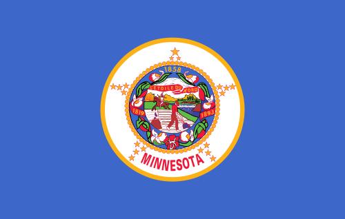 Minnesota MN State Flag