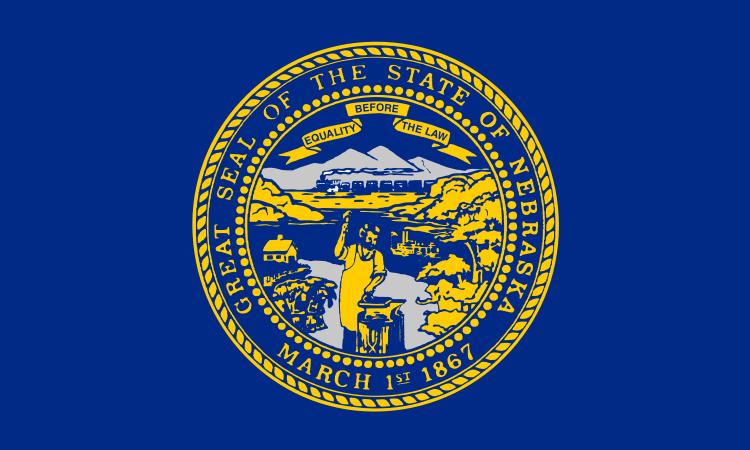Nebraska NE State Flag