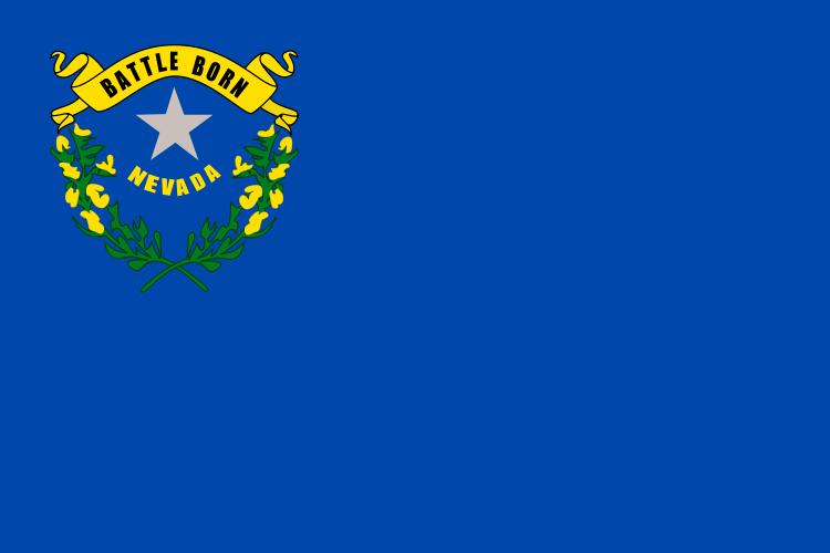 Nevada NV State Flag