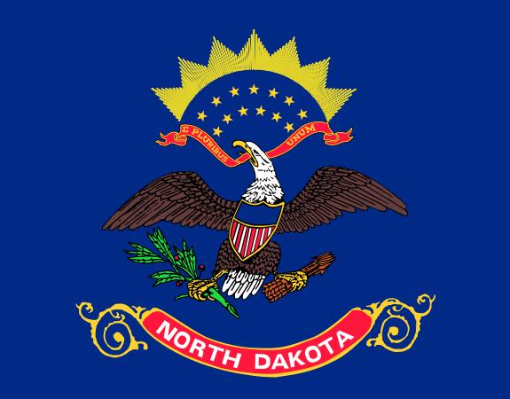 North Dakota ND State Flag
