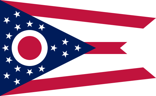 Ohio OH state Flag
