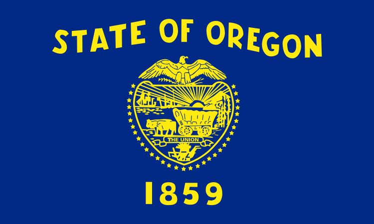 Oregon OR State Flag