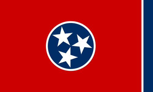 Tennessee TN State Flag