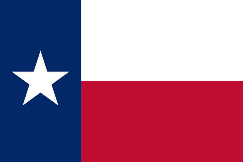 Texas TX State Flag