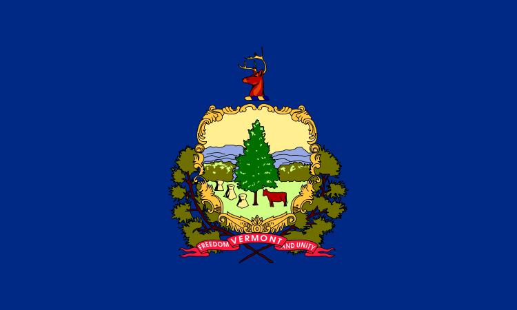 Vermont VT Flag