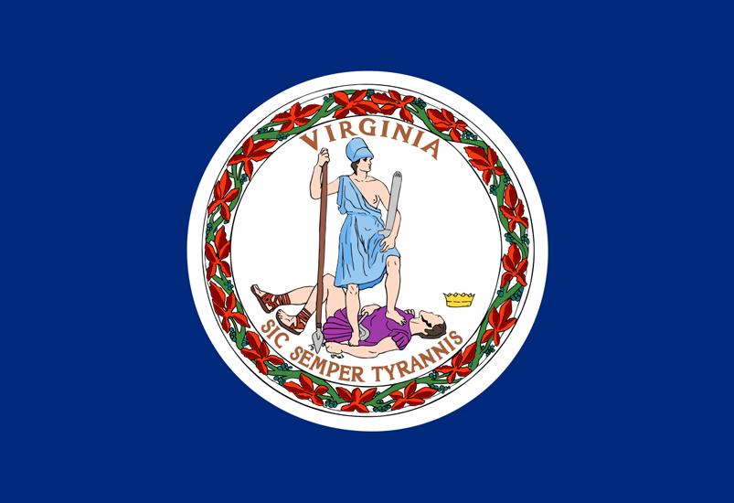 Virginia VA Flag