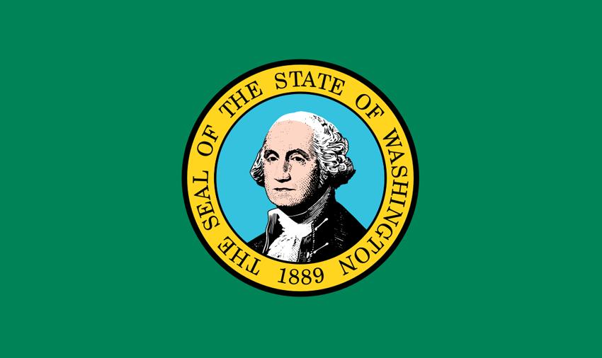 Washington WA Flag