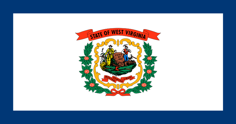 West Virginia WV Flag