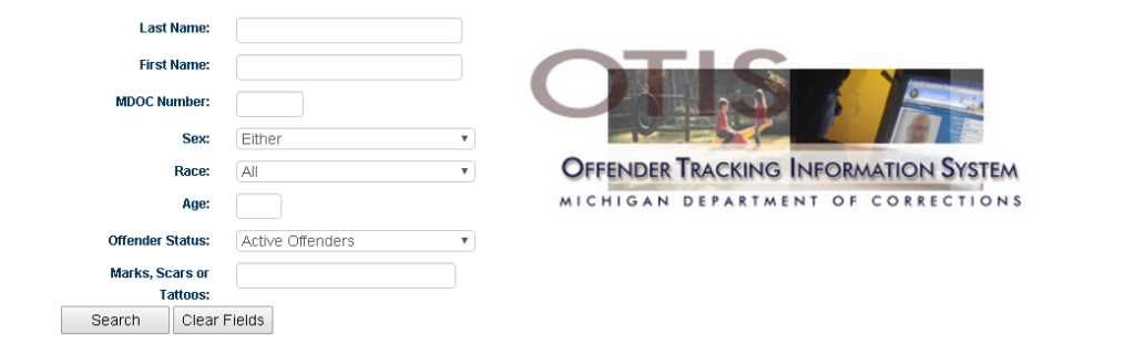 michigan inmate search