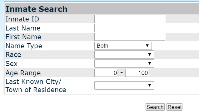 rhode island inmate search