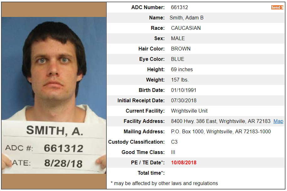 Arkansas Prisoner Profile