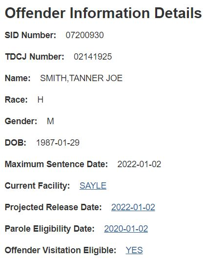 Texas Offender Records