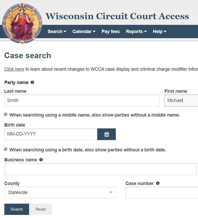Wisconsin Court Cases
