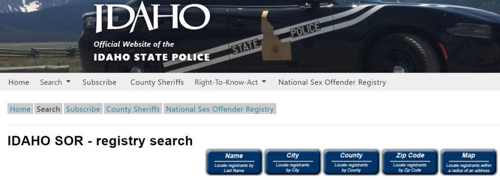 Idaho Sex Offenders