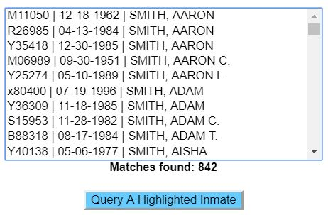 Illinois Prisoner Search