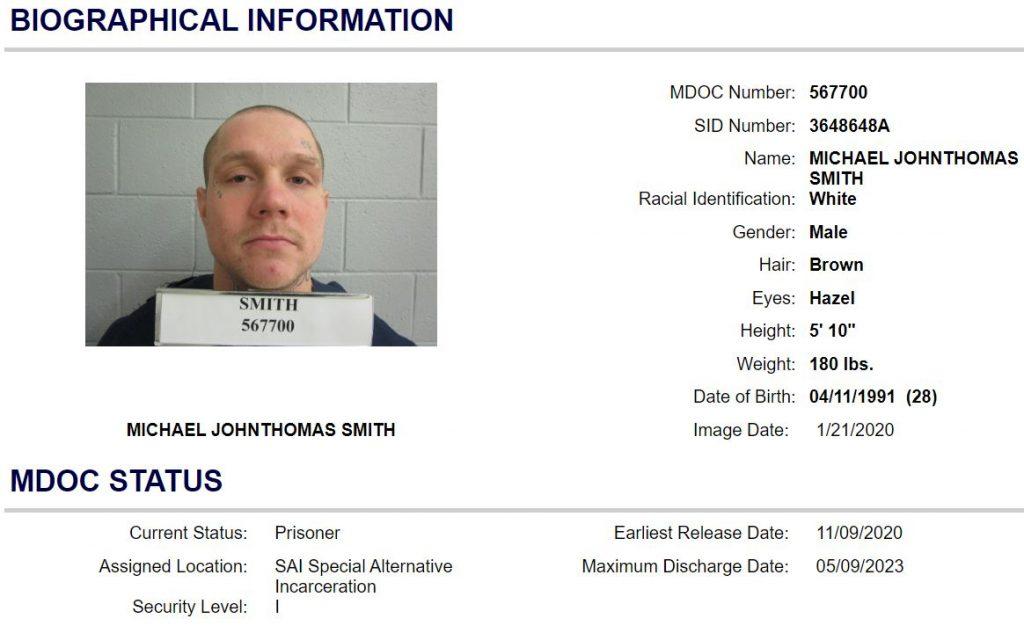 MI Inmate Search Info