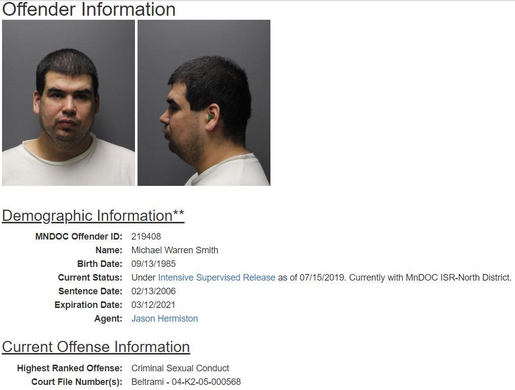 MN Inmate Info