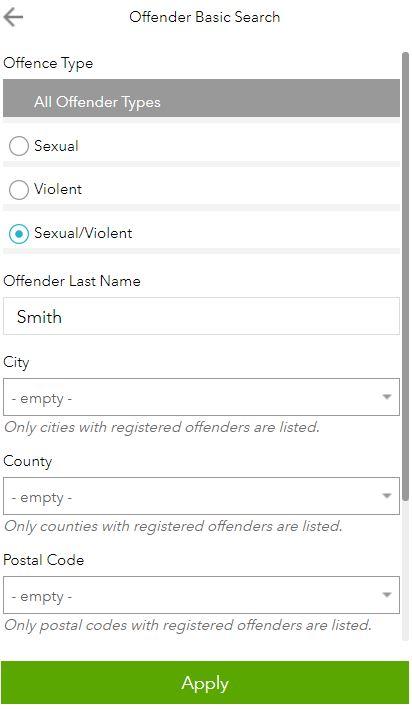mt sex offender database in Kelowna