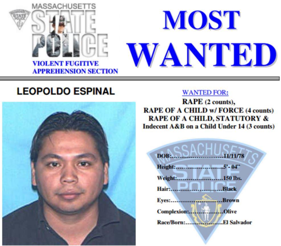 Massachusetts Most Wanted