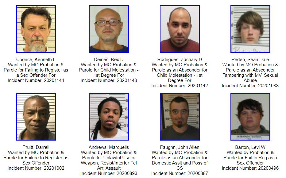 Missouri Most Wanted