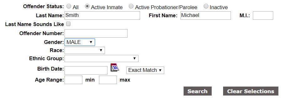 NC Inmate Info