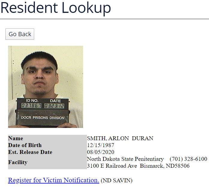 ND Offender Search