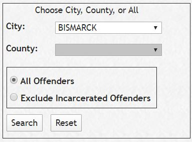 ND Sex Offender Search