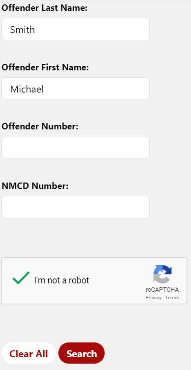 NM Inmate Search
