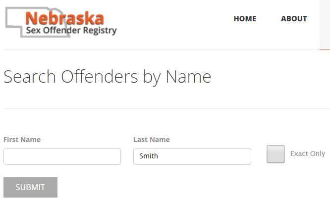 Nebraska Sex Offenders