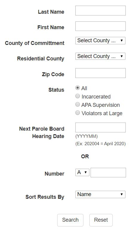 Ohio Inmate Search